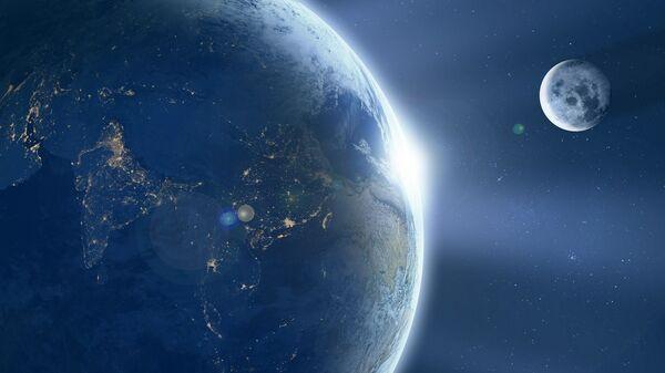 Země a Měsíc - Sputnik Česká republika