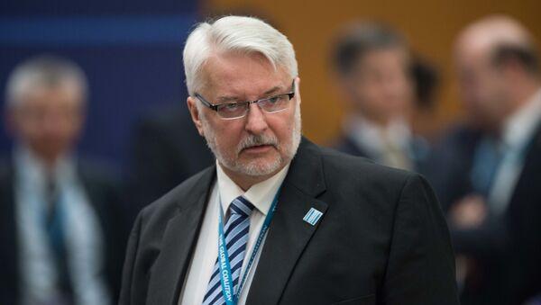 Bývalý polský ministr zahraničí Witold Waszczykowski - Sputnik Česká republika