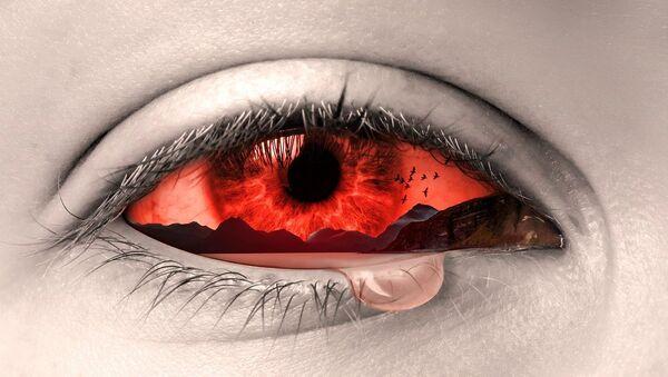 Krvavé oko - Sputnik Česká republika