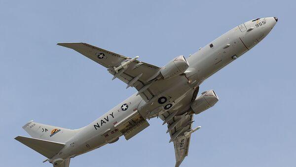 Hlídkové protilodní letadlo P-8A Poseidon. Archivní foto - Sputnik Česká republika