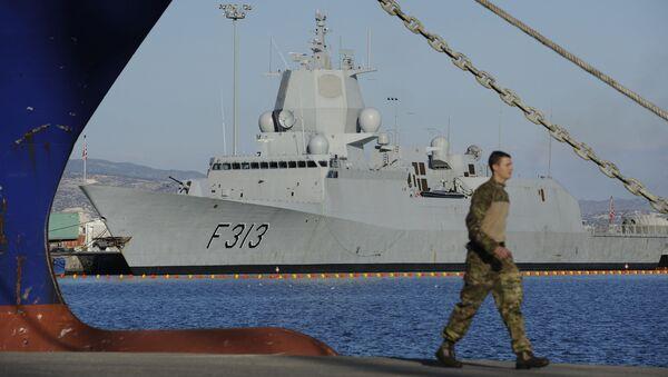 Norská fregata HNOMS Helge Ingstad. Archivní foto - Sputnik Česká republika