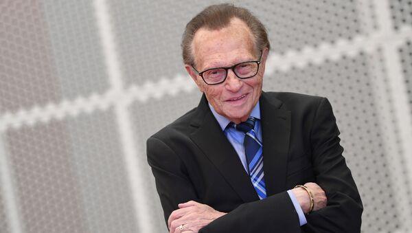 Americký moderátor Larry King - Sputnik Česká republika