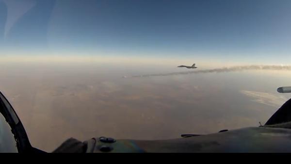 Odpálení rakety při cvičení nad Krymem - Sputnik Česká republika