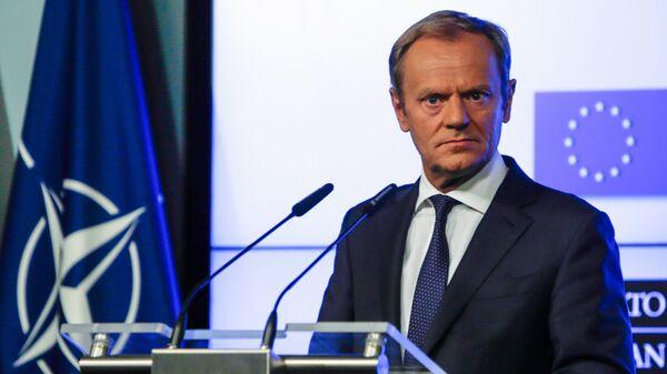 Donald Tusk v Bruselu - Sputnik Česká republika