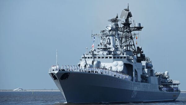 Loď Severomorsk - Sputnik Česká republika