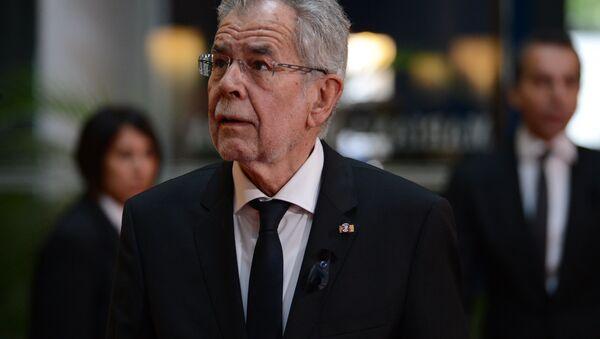 Rakouský prezident Alexander Van der Bellen - Sputnik Česká republika