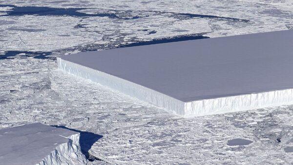 Pravoúhlý ledovec - Sputnik Česká republika