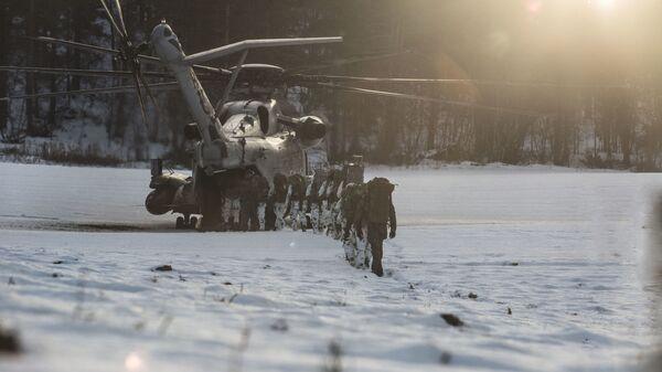 Němečtí vojáci během cvičení NATO Trident Juncture 18 v Norsku - Sputnik Česká republika