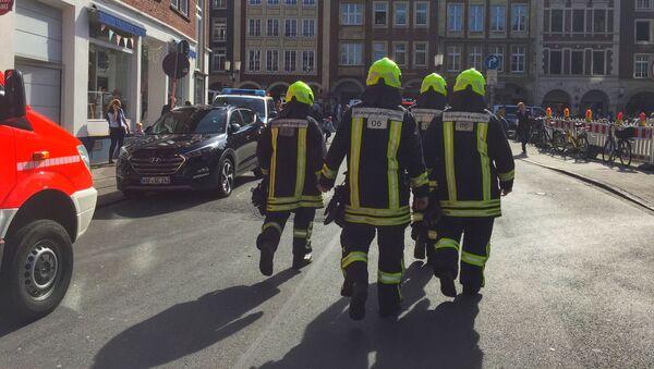 Němečtí hasiči. Ilustrační foto - Sputnik Česká republika