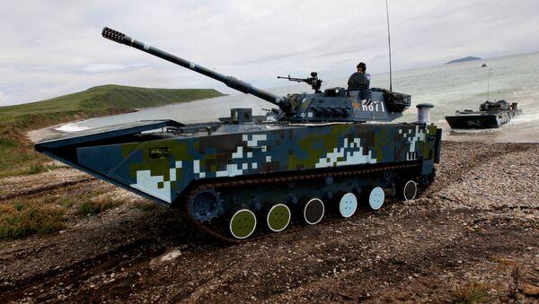 Čínské bojové vozidlo, které bylo předvedeno na výstavě Airshow China 2018 - Sputnik Česká republika