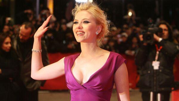 Americká herečka Scarlett Johanssonová - Sputnik Česká republika