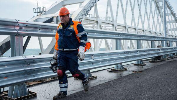 Stavitel Krymského mostu - Sputnik Česká republika