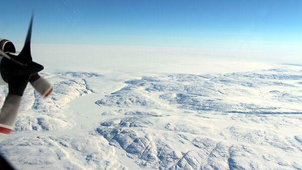 Kráter pod ledovcem Hiawatha - Sputnik Česká republika