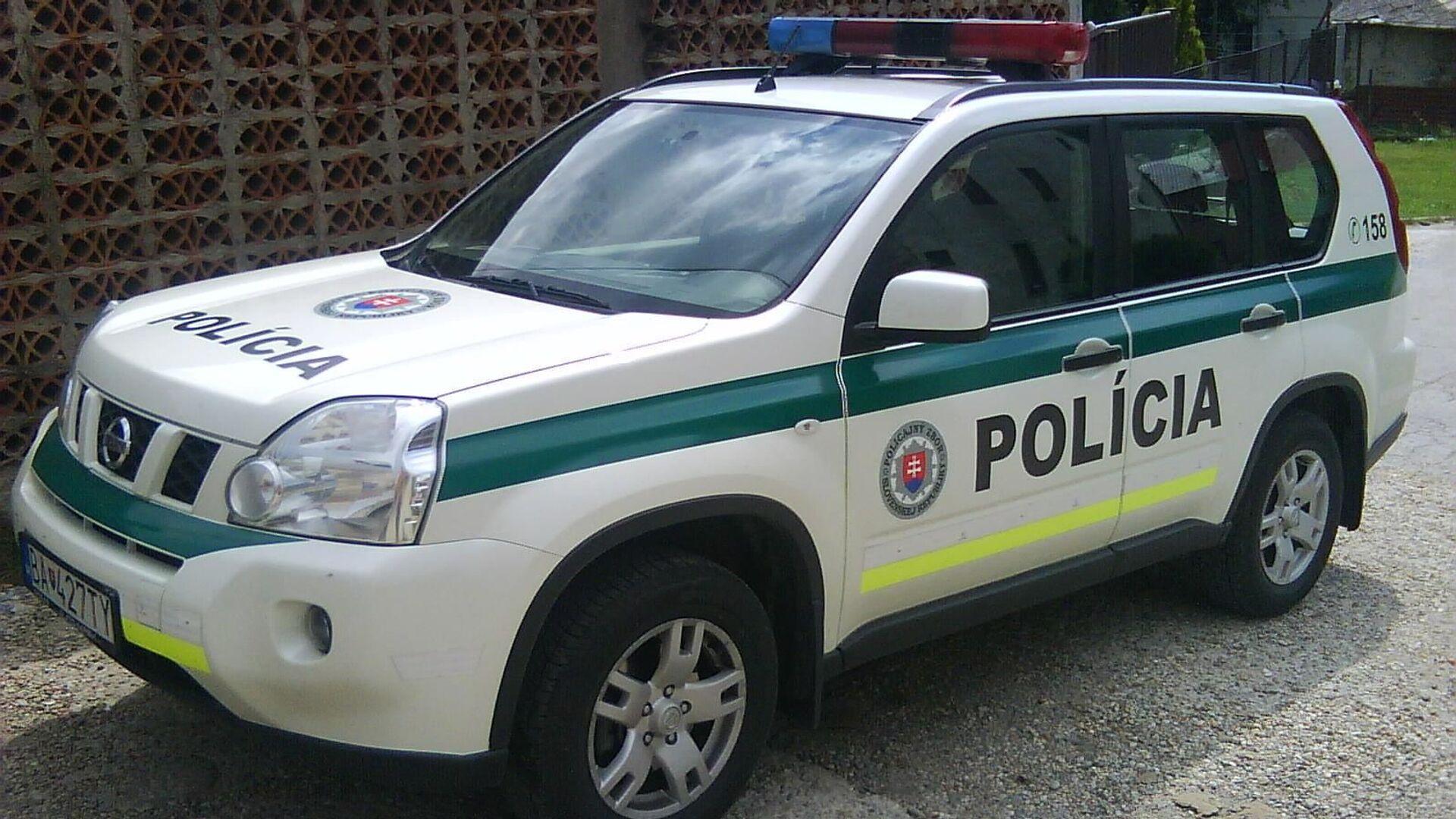 Slovenská policie - Sputnik Česká republika, 1920, 04.08.2021