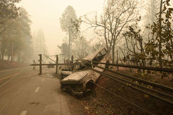 Tento týden v obrázcích: lesní požáry v Kalifornii a setkání evropských lídrů v Paříži - Sputnik Česká republika
