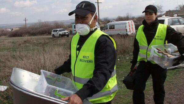 Experti na místě havárie MH17 - Sputnik Česká republika