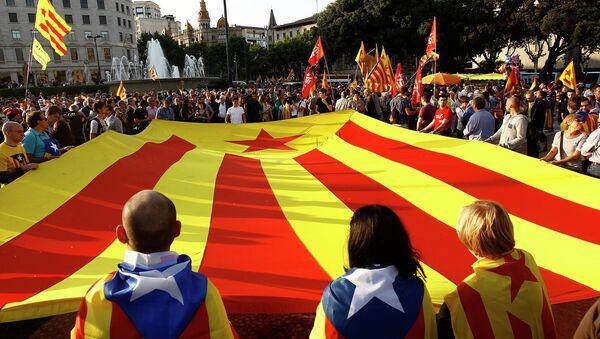 Katalánská vlajka - Sputnik Česká republika