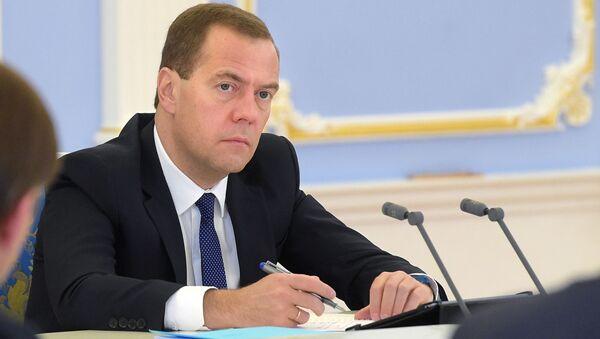 Předseda ruské vlády Dmitrij Medveděv - Sputnik Česká republika
