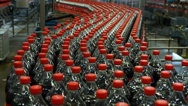 Coca-cola. Ilustrační foto - Sputnik Česká republika