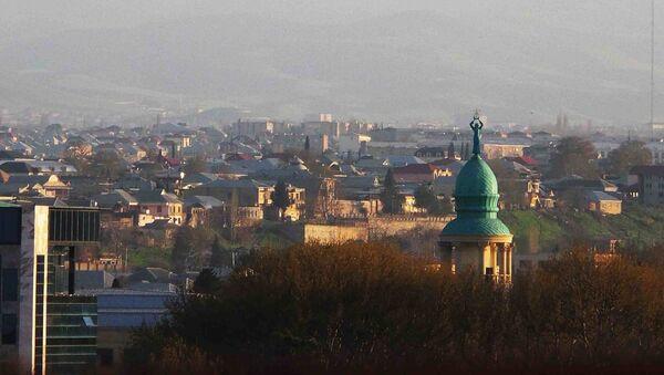 Výhled na město Gjandža, Ázerbájdžán - Sputnik Česká republika