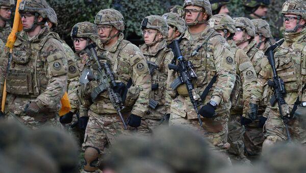 Multinárodní prapor NATO v Polsku - Sputnik Česká republika