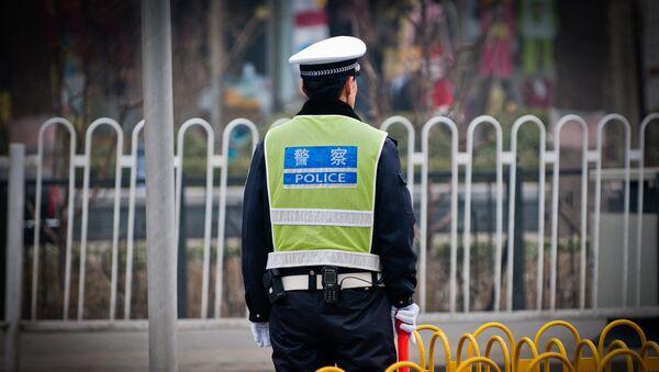 Čínský policista - Sputnik Česká republika