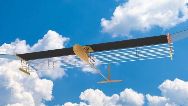 Letadlo poháněné iontovým motorem od týmu Massachusetts Institute of Technology (MIT) v USA - Sputnik Česká republika