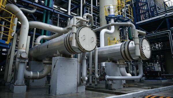 Moskevský ropný závod. Ilustrační foto - Sputnik Česká republika