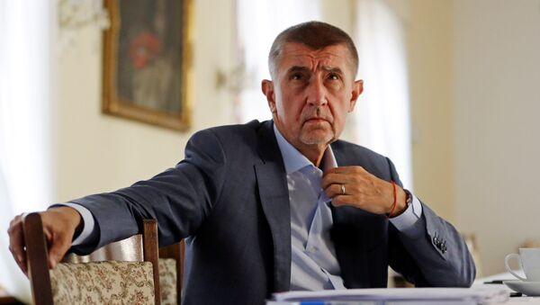 Premiér Andrej Babiš - Sputnik Česká republika