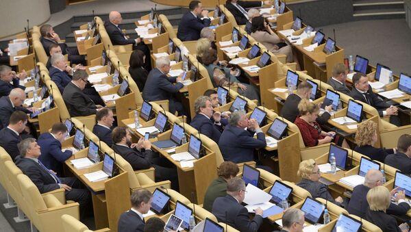 Poslanci ve Státní dumě RF - Sputnik Česká republika