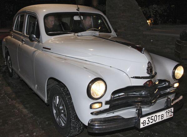 Putinova auta - Sputnik Česká republika