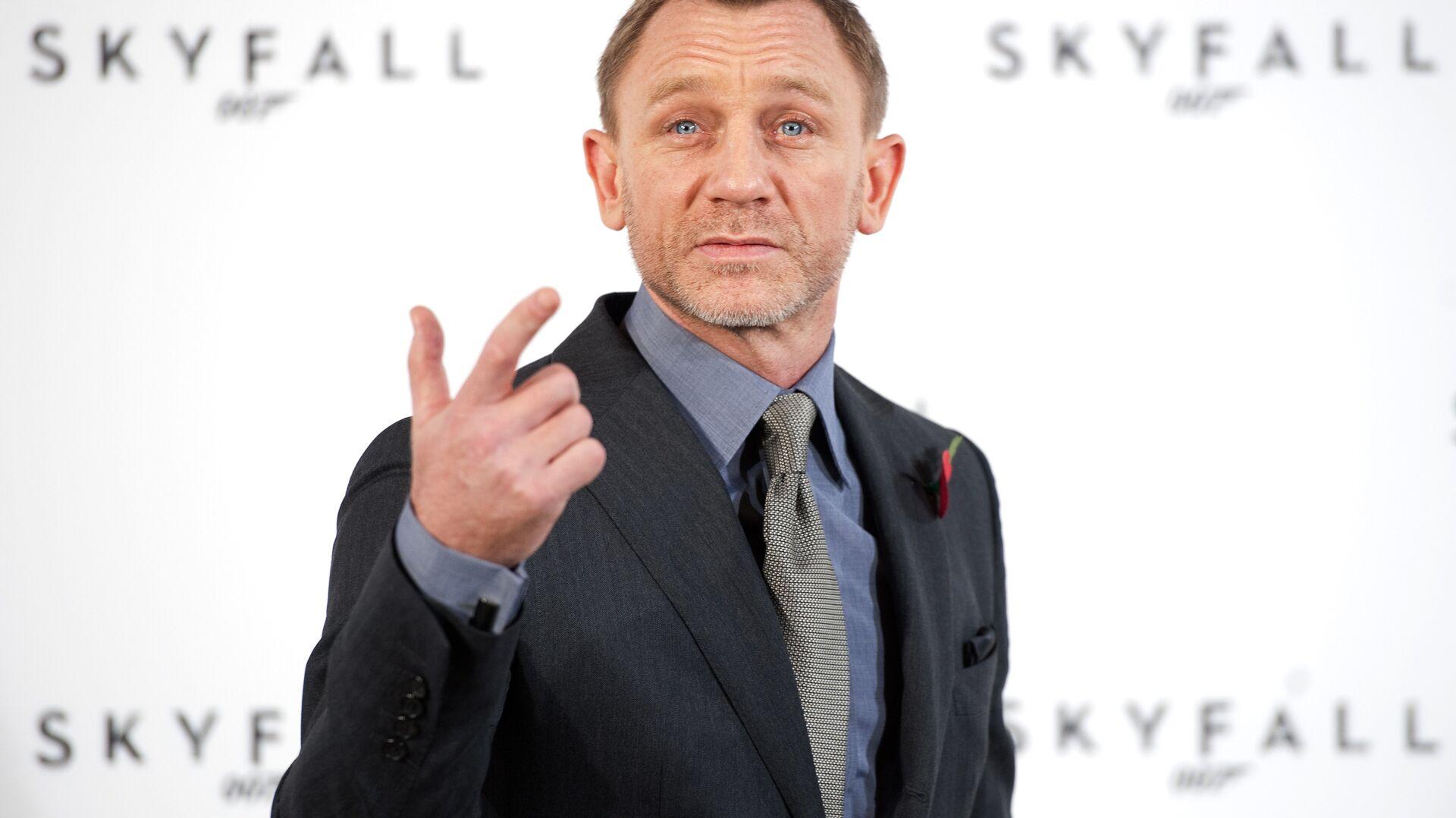 Anglický herec Daniel Craig - Sputnik Česká republika, 1920, 25.09.2021