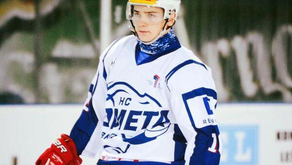 Slovenský hokejista Kristián Lunter - Sputnik Česká republika