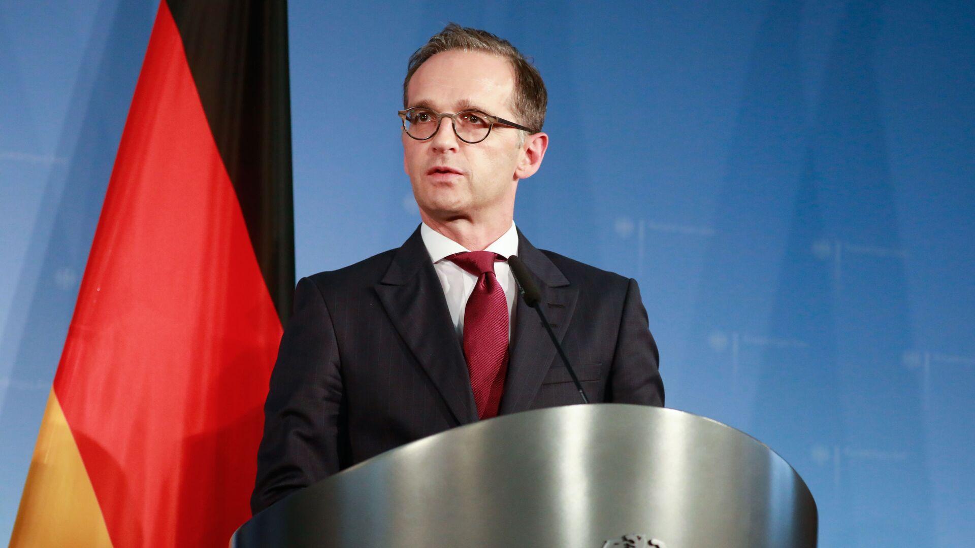 Německý ministr zahraničí Heiko Maas - Sputnik Česká republika, 1920, 22.02.2021