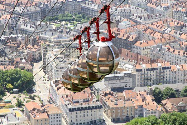 Lanovky z celého světa, které vám vyrazí dech - Sputnik Česká republika