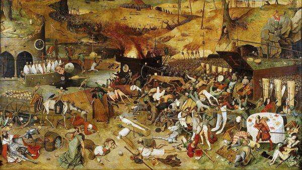 Obraz Triumf smrti od Pietera Brueghela - Sputnik Česká republika