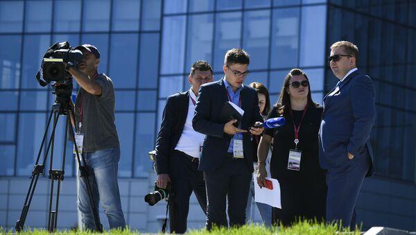 Novináři. Ilustrační foto - Sputnik Česká republika