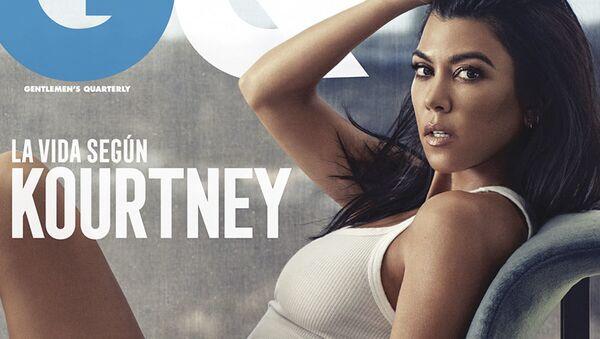 "Účastnice americké reality show ""Držte krok s Kardashians"" Kourtney Kardashianová - Sputnik Česká republika"