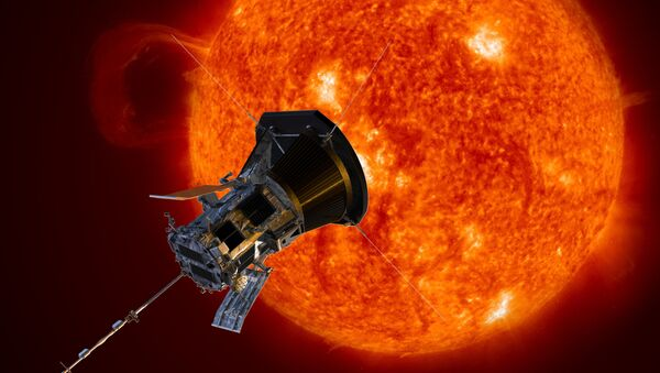 Slunce a sluneční sonda Parker - Sputnik Česká republika