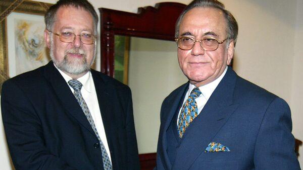 Jaroslav Bašta (vlevo). Ilustrační foto - Sputnik Česká republika