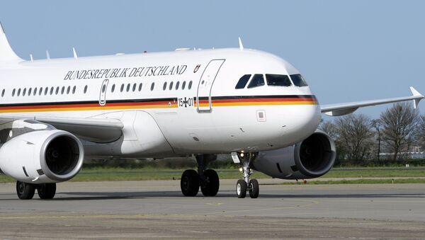Letoun německé kancléřky Angely Merkelové - Sputnik Česká republika