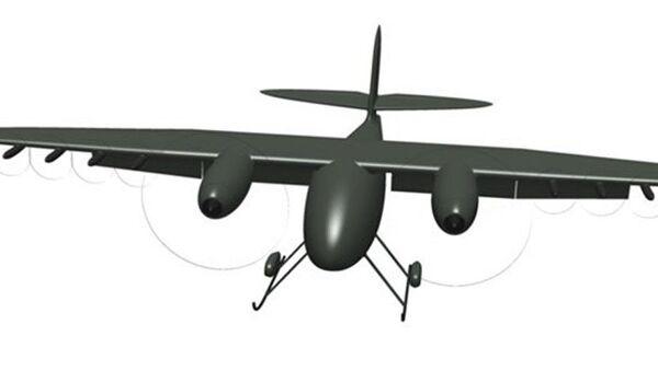 Testování ruského létajícího terénního vozu - Sputnik Česká republika