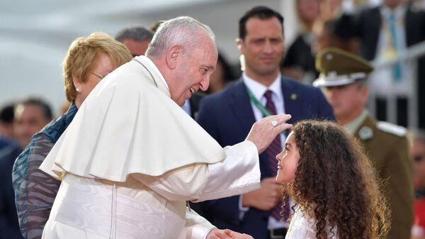 Встреча Папы Римского Франциска в Чили  - Sputnik Česká republika