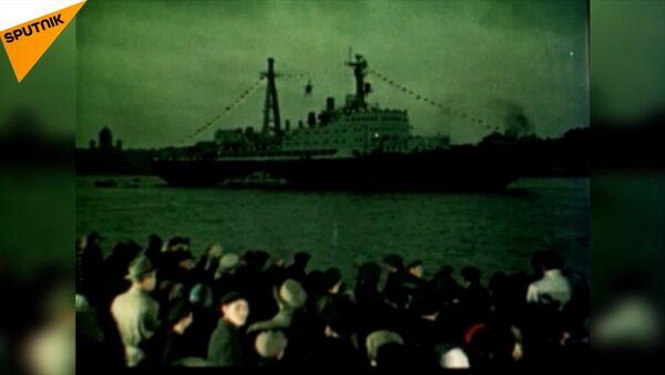Ledoborec Lenin byl spuštěn na vodu před 59 lety - Sputnik Česká republika