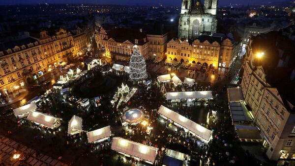 Staroměstské náměstí o Vánocích - Sputnik Česká republika