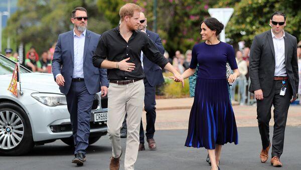 Princ Harry s ženou Meghan - Sputnik Česká republika