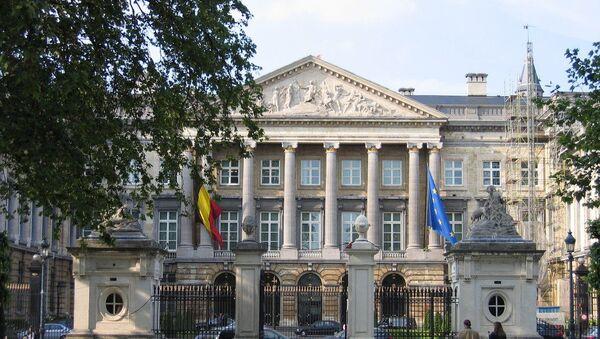Budova belgického parlamentu v Bruselu - Sputnik Česká republika