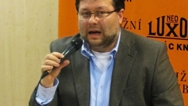 Журналист Jaroslav Kmenta - Sputnik Česká republika