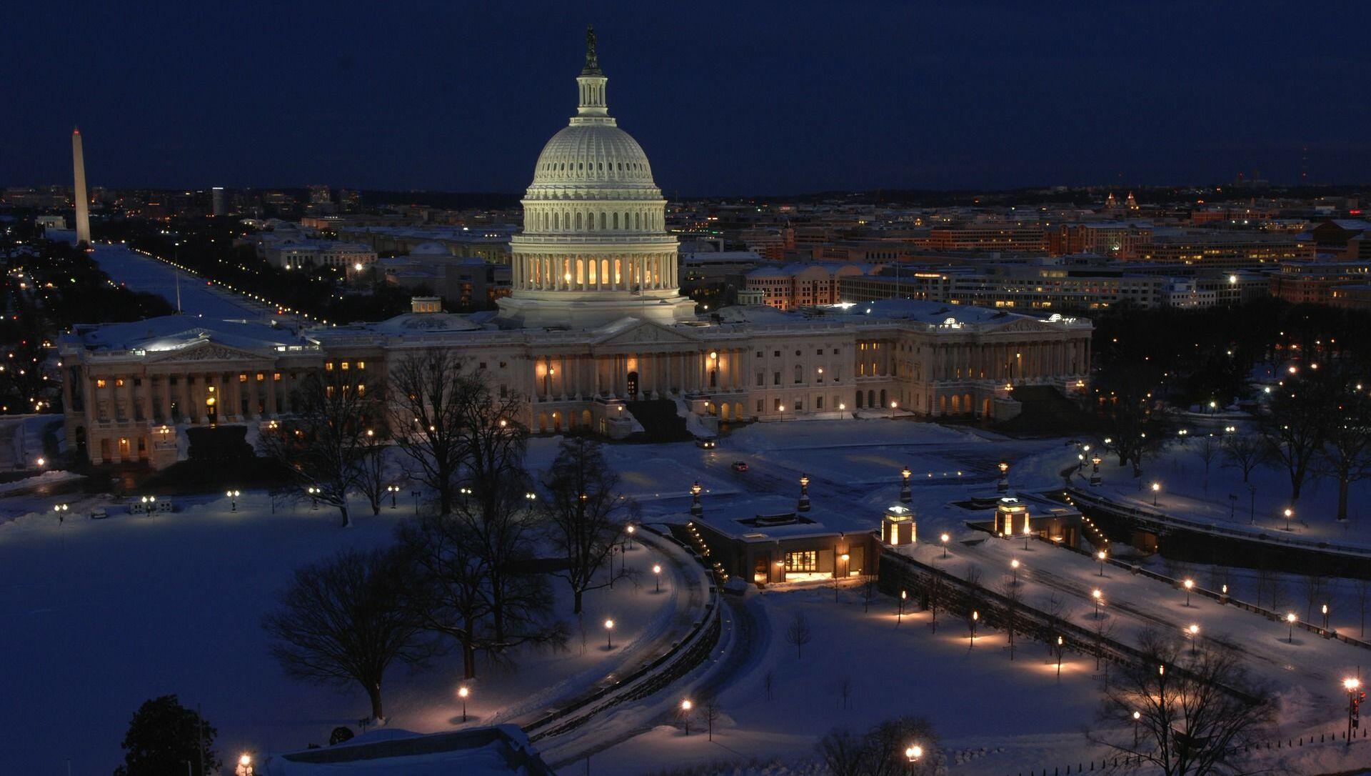 Budova Kongresu USA ve Washingtonu - Sputnik Česká republika, 1920, 10.02.2021