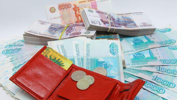 Velké množství rublů - Sputnik Česká republika